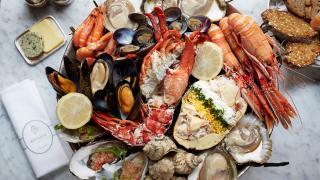 Bentley's royal seafood platter
