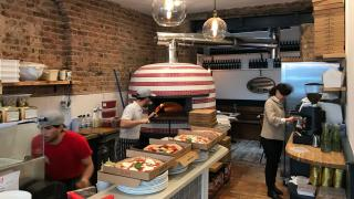 Zia Lucia's hand-crafted wood-fired ovens
