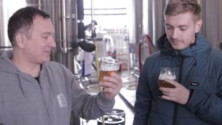The first tasting of Parliament at Mondo Brewing Company