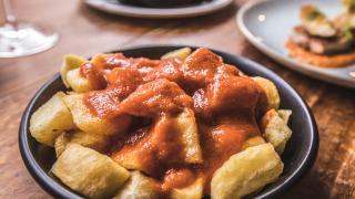 Patatas bravas at Iberica