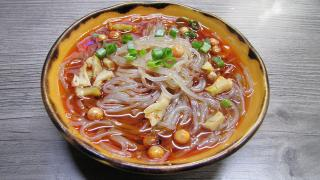 Sweet potato noodles at Xi'an Biang Biang