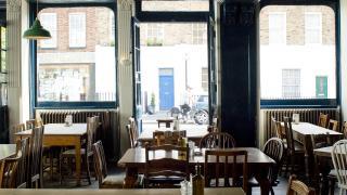 Sustainable restaurants London: The Duke of Cambridge