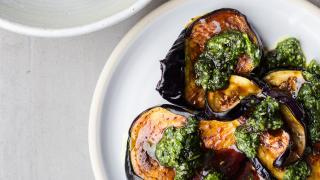 Bubala, Spitalfields: restaurant review – aubergine, zhoug and date syrup