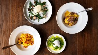 Maremma, Brixton: a selection of dishes