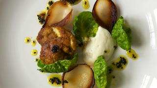 Townsend restaurant: curried veal sweetbreads