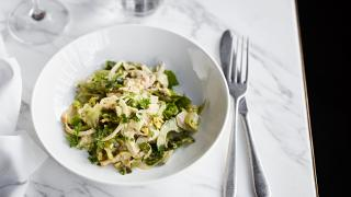 Rondo, Holborn | crab and sauerfennel salad