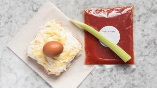 Restaurant meal kit delivery: The Laundry's brunch