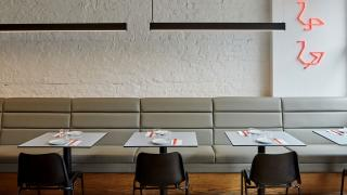 Interiors at The Red Duck in Balham