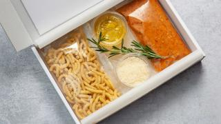 Meal kit review: Otto by Phil Howard. A pasta box