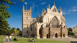 Places to eat in Exeter: Exeter Cathedral