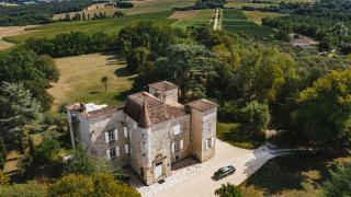 The estate at Château de Gensac