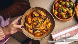 Best tapas London: mussels at Bibo Dani Garcia