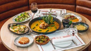 Best tapas London | A spread at BIBO Dani Garcia