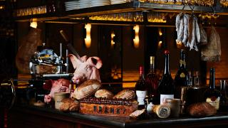 Best French restaurants London | charcuterie at Franks Bar