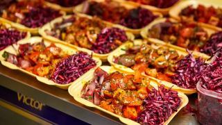 Mam Sham: food at an event