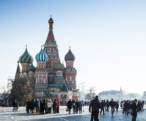 Red Square; Photograph by Getty Images / Paul Thuysbaert