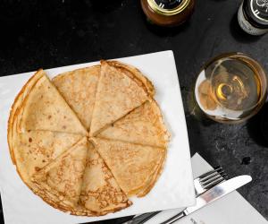 Best pancakes recipes for Pancake Day | Le Deli Robuchon's crêpe | Cunningham Captures