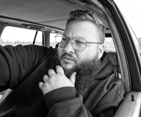 Action Bronson. Photograph by Alexander Richter