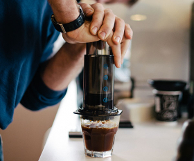The Aeropress coffee maker