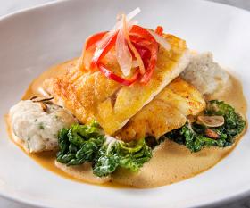 A dish at Asia de Cuba