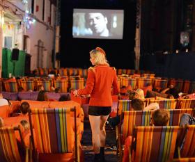 The Backyard Cinema in Camden