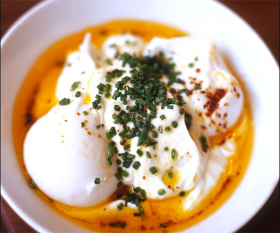Turkish eggs at The Providores