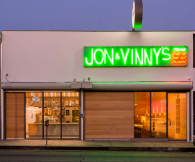 Jon and Vinny's. Photograph by Joshua White