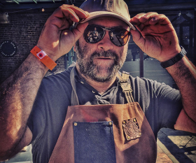 Richard Turner of Hawksmoor, Blacklock and Meatopia