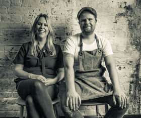 Robin and Sarah Gill, the founders of The Dairy, The Manor and now Counter Culture