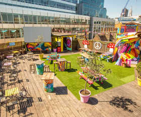 The Queen of Hoxton's summer pop-up (photograph by Graham Turner)