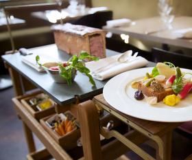 Restaurants with trolleys