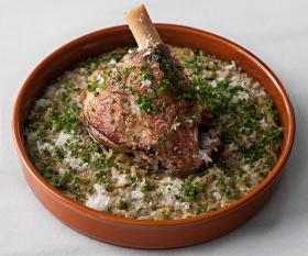 Opso's lamb dish