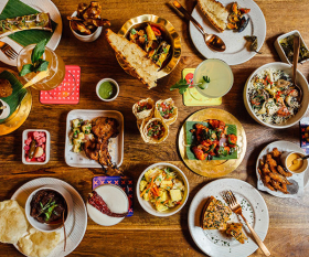 A selection of dishes from Talli Joe