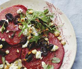 Anna Jones' recipe for beetroot and buckwheat pancakes