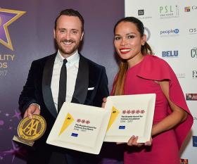 Winners of 2016's AA hospitality awards