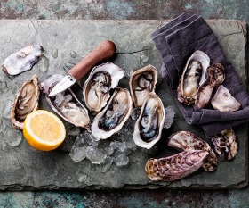 Oysters. Photograph by The Picture Pantry/Alamy