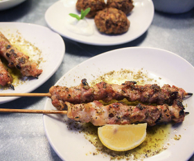 Hungry Donkey's recipe for pork souvlaki