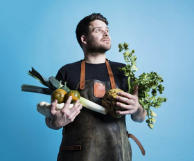 Tom Hunt on his veg-forward cooking. Photography by David Harrison
