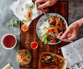 London's best working lunches: Grab Thai