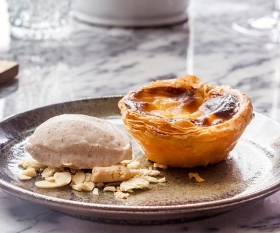 London's best Portuguese restaurants: a perfect pastel de nata at Bar Douro