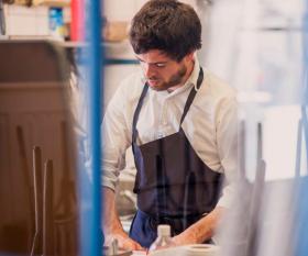 Mathieu Rostaing-Tayard at Lyle's