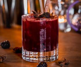 A cocktail at TT Liquor