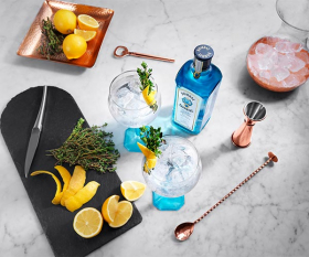 Bombay Sapphire's lemon and thyme twist