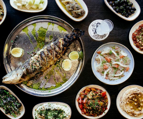 Yosma, Marylebone: restaurant review; photograph: Claire Menary