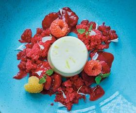 Make The Ivy's lemon panna cotta; photograph: Jenny Zarins