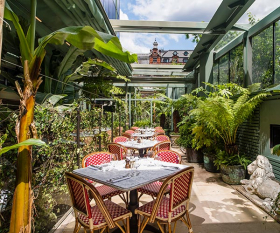 London's best garden cafés, restaurants and bars
