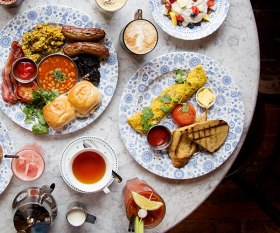 From the bacon naan to the chai lattes, you can't go wrong with Dishoom's Indian-inspired breakfasts