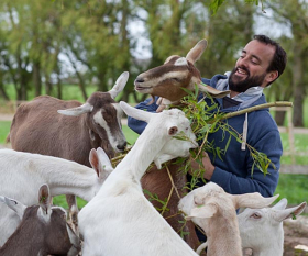 James Whetlor created Cabrito in 2012 to offer an alternative to euthanising billies