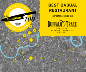 Foodism 100: Best Casual Restaurant – the shortlist
