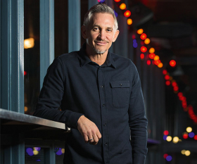 Gary Lineker, shot for Foodism at Street Feast's Dinerama food market. Photograph by Chris Johnson